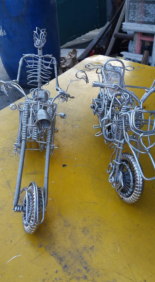 52-Year-Old Filipino Sets The Social Media Abuzz By His Incredible Creations Made From Aluminum Wires image 5