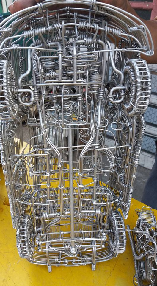 52-Year-Old Filipino Sets The Social Media Abuzz By His Incredible Creations Made From Aluminum Wires image 6