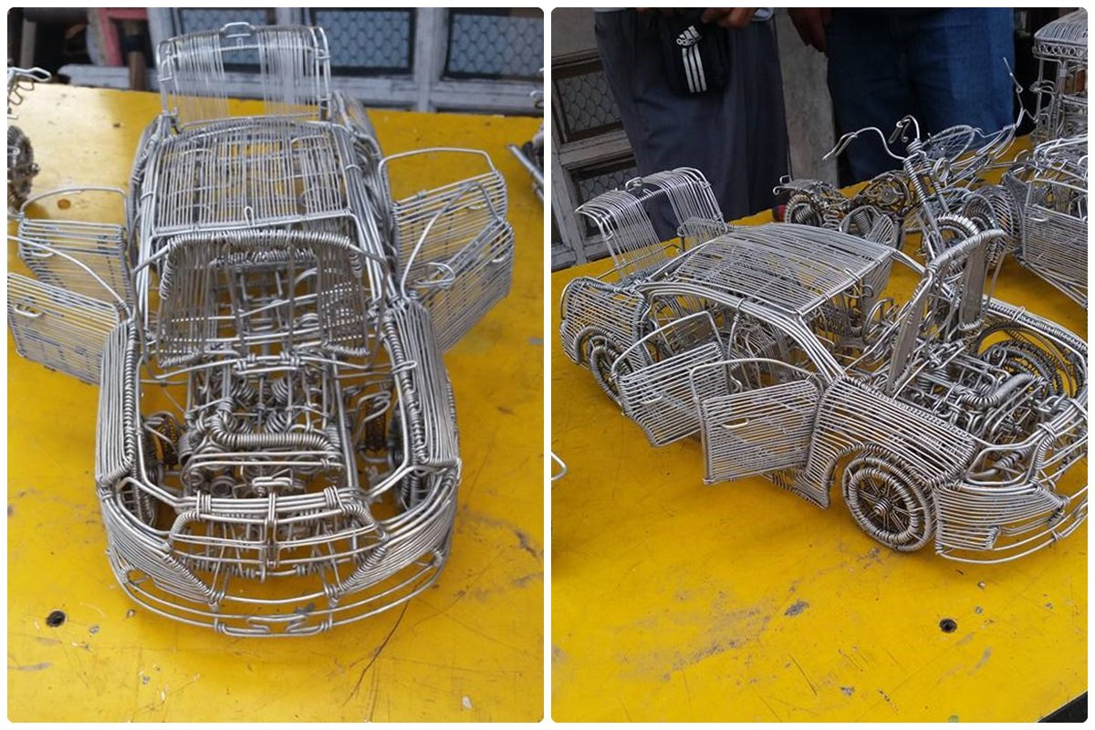 52-Year-Old Filipino Sets The Social Media Abuzz By His Incredible Creations Made From Aluminum Wires image 11