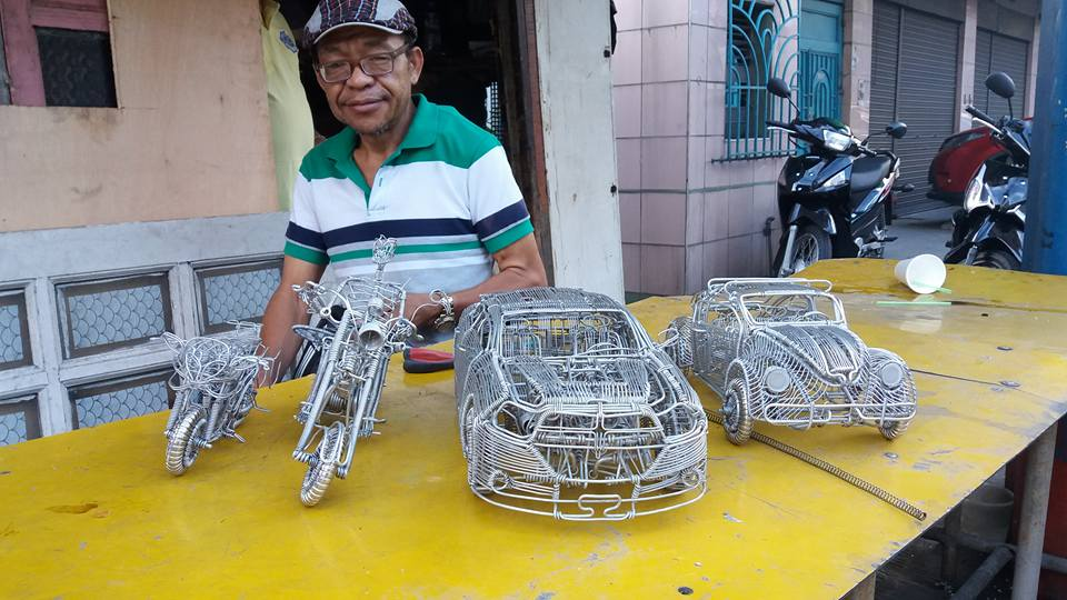 52-Year-Old Filipino Sets The Social Media Abuzz By His Incredible Creations Made From Aluminum Wires image 3